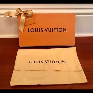 Authentic Louis Vuitton Gift Box